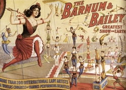 Barnum & Bailey's Greatest Show on Earth.